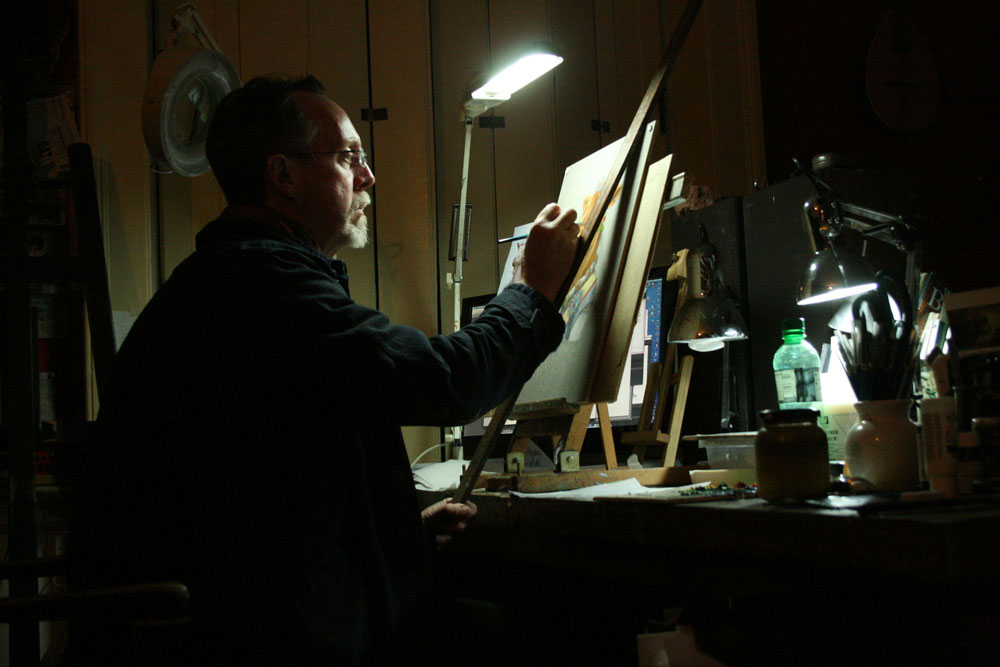 In the Studio: David Lawrence 6