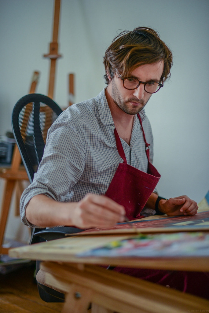 In the Studio: Antoine Corbineau 4