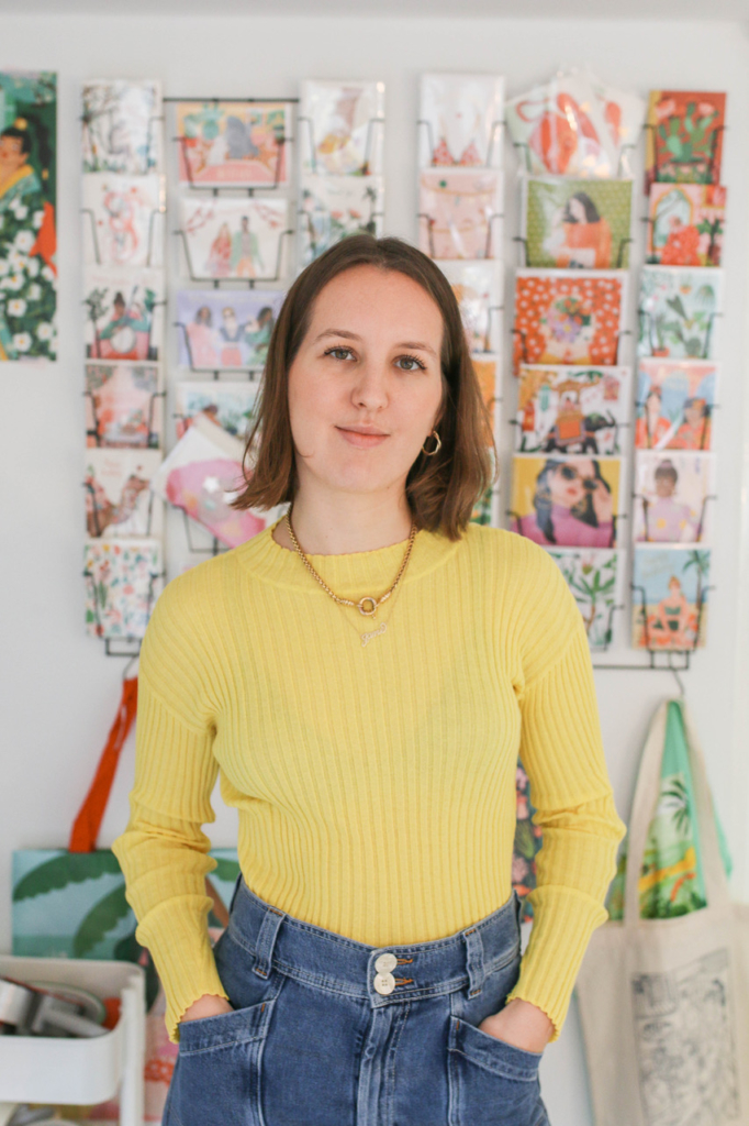 In the Studio: Bodil Jane 6
