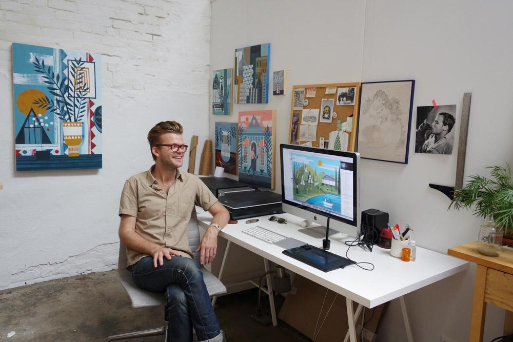 In the Studio: Sam Kalda 4