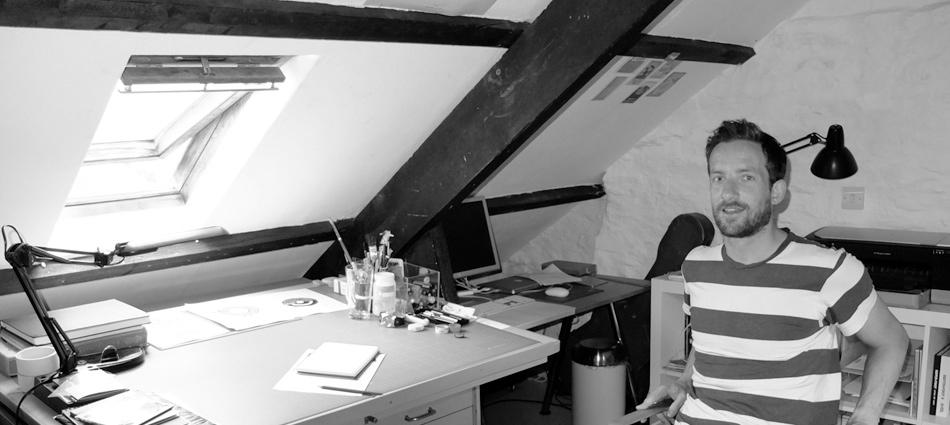 In the Studio: Nick Radford
