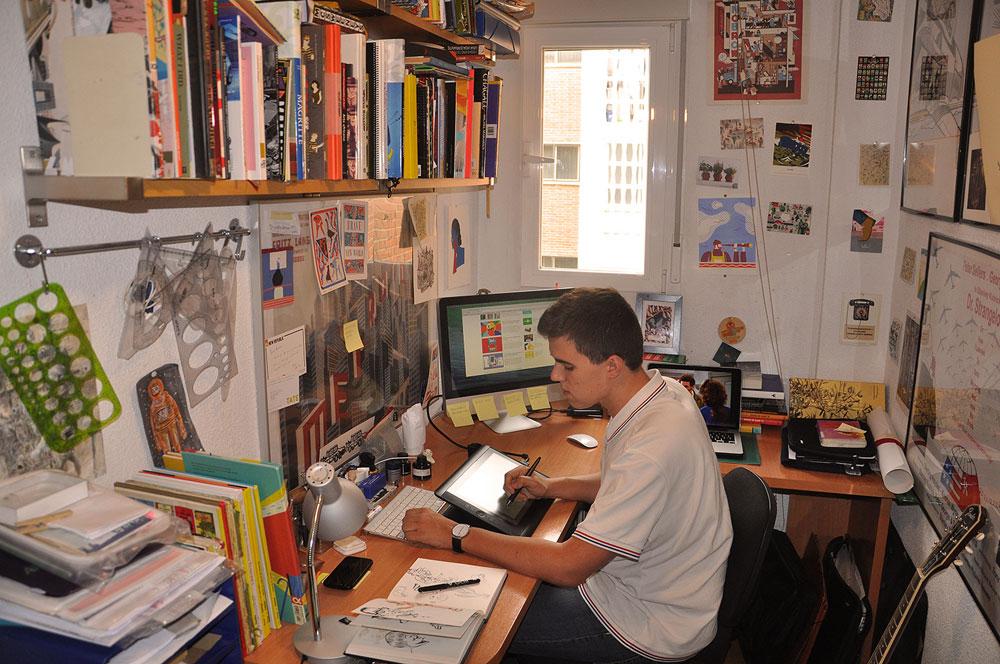 In the Studio: Andrés Lozano
