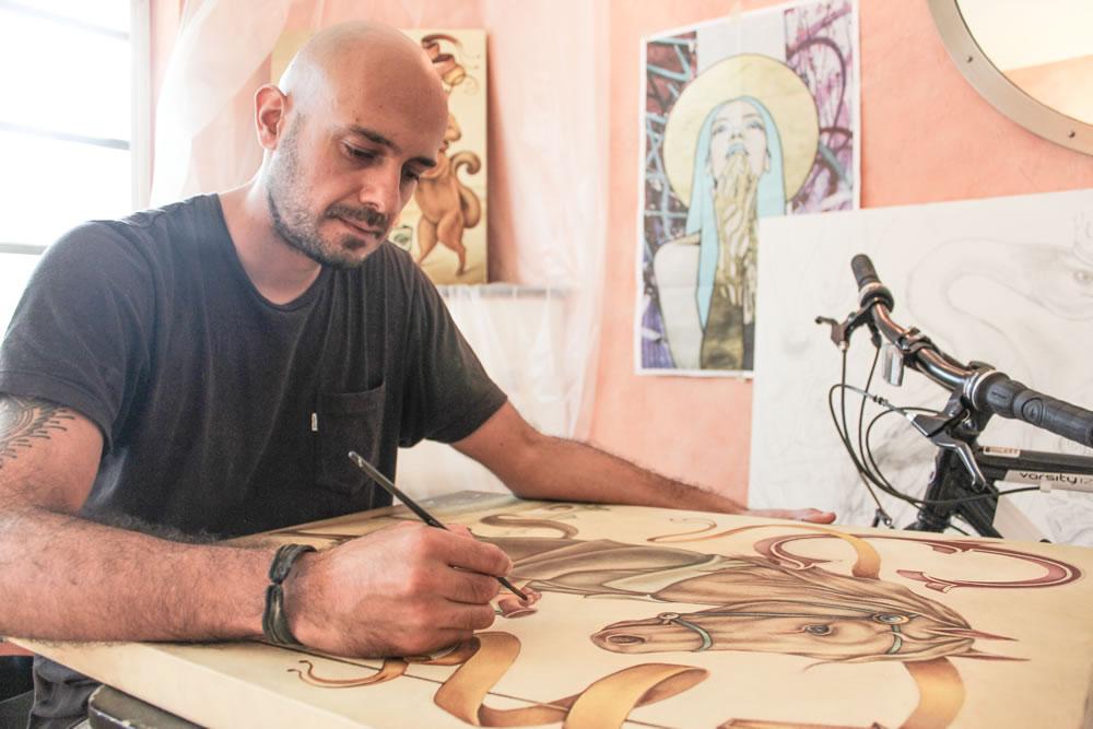 In the Studio: Julián de Narvaéz 6