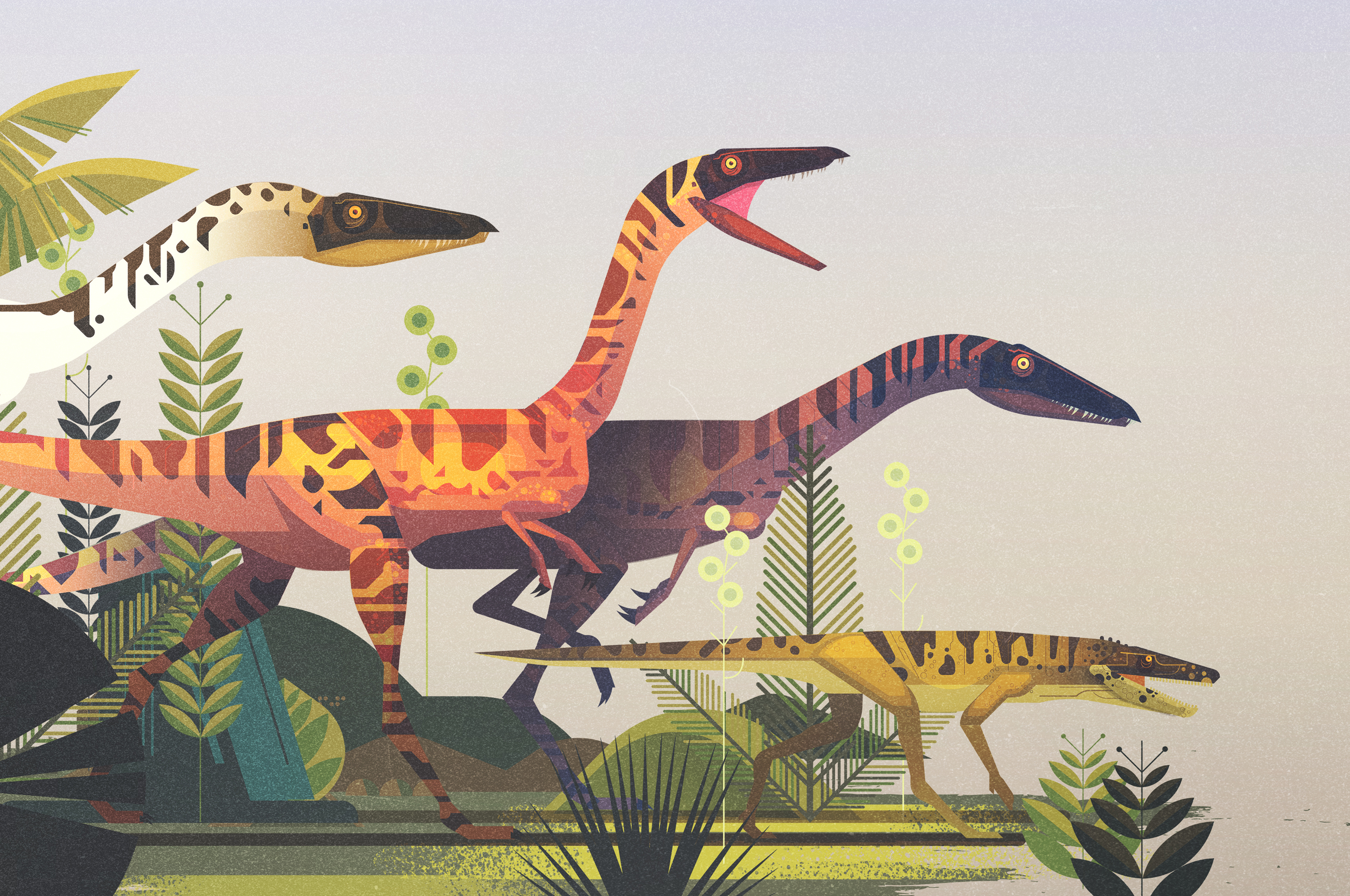 James Gilleard - The Dinosaur Atlas