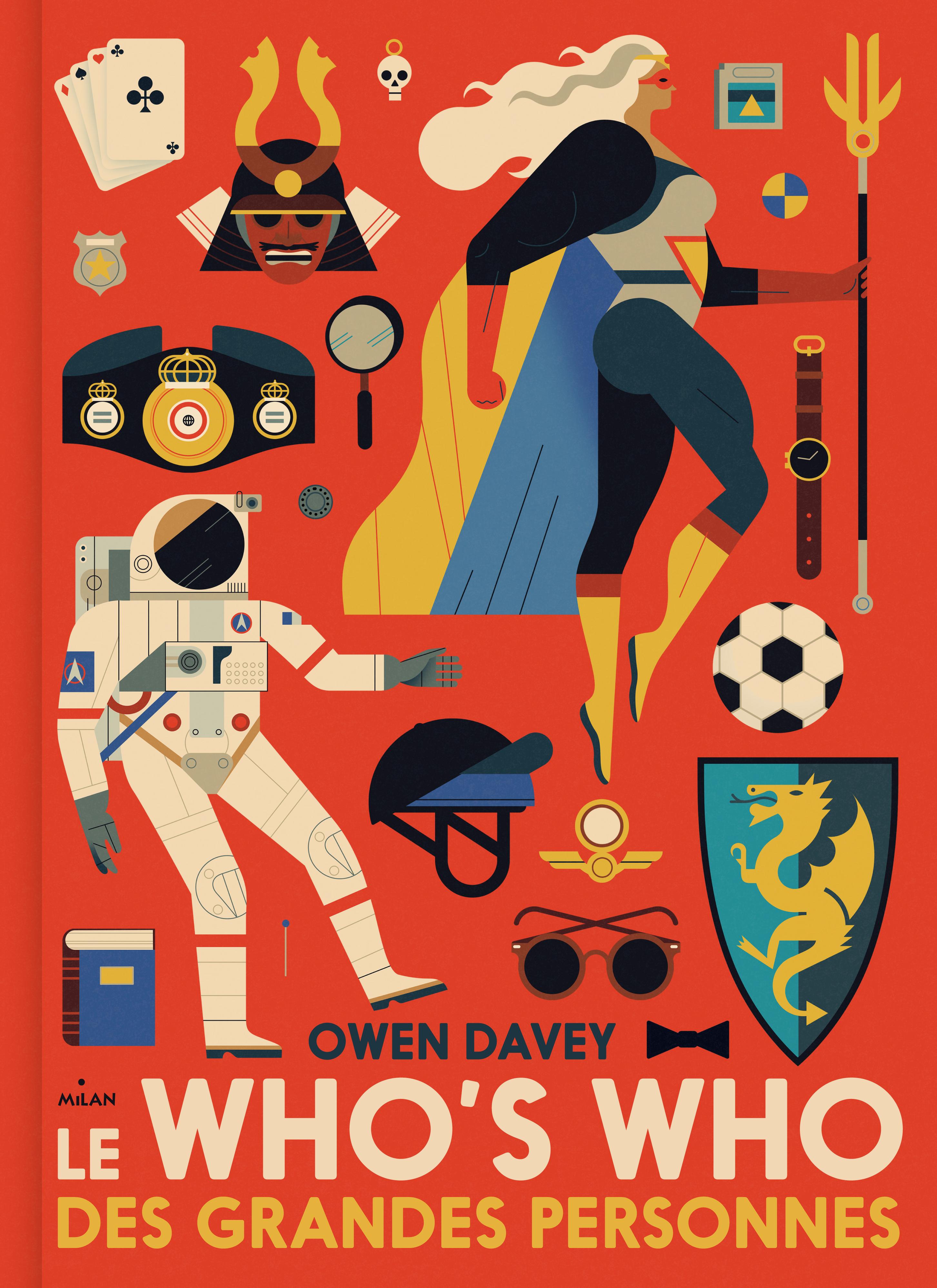 Owen Davey - Who's Who Book